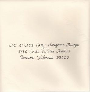 Standard Calligraphy Allegro Font