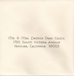 Standard Calligraphy Celtic Font