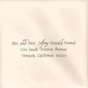 Standard Calligraphy Formal Font