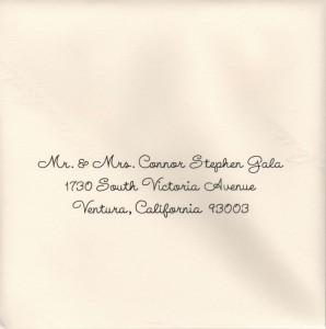 Standard Calligraphy Gala Font
