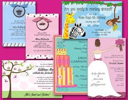 San Lori Invitations
