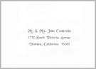 Printer Font - Cinderella
